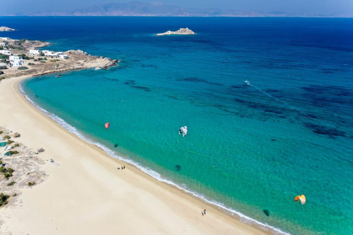Mikri Vigla Beach in Naxos