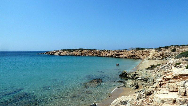 Farangas Beach in Paros - greece insiders blog