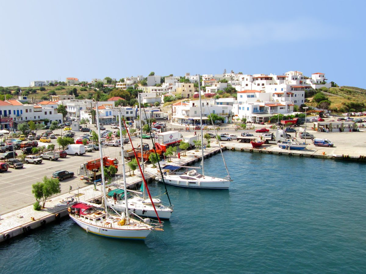 Andros Island - best greek island to visit in april