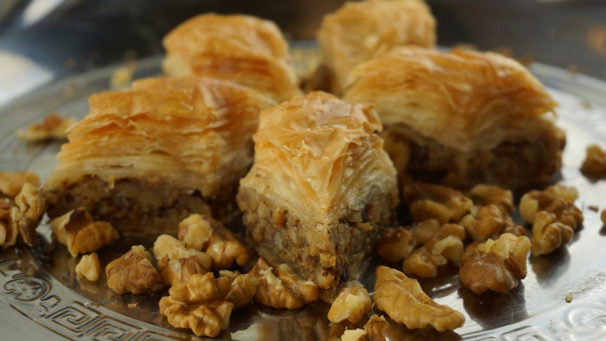 Baklava sweet dish - paros - greece insiders blog