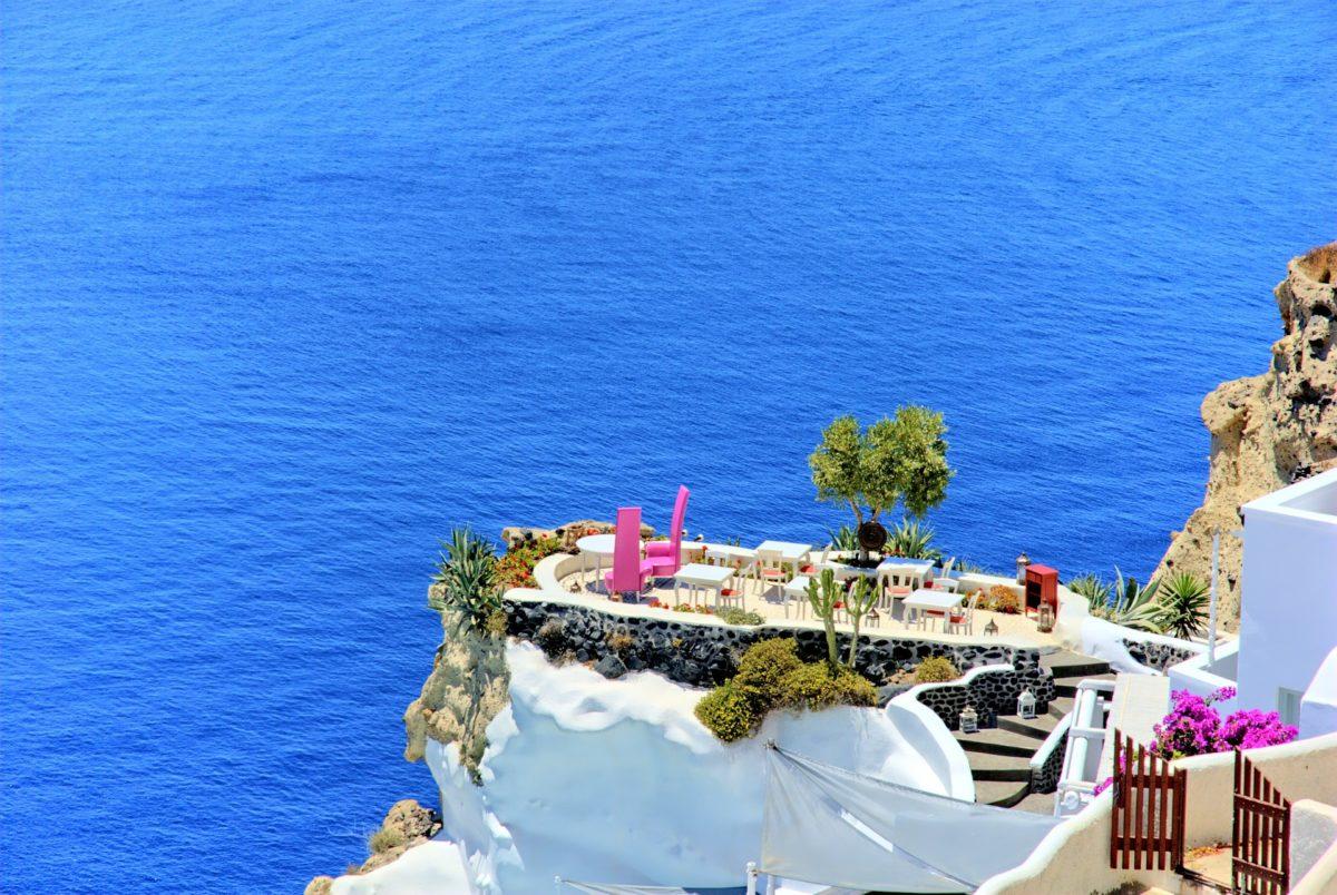 andronis restaurant santorini - honeymoon santorini blog
