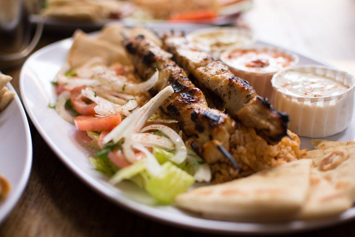 souvlaki - greek summer dish