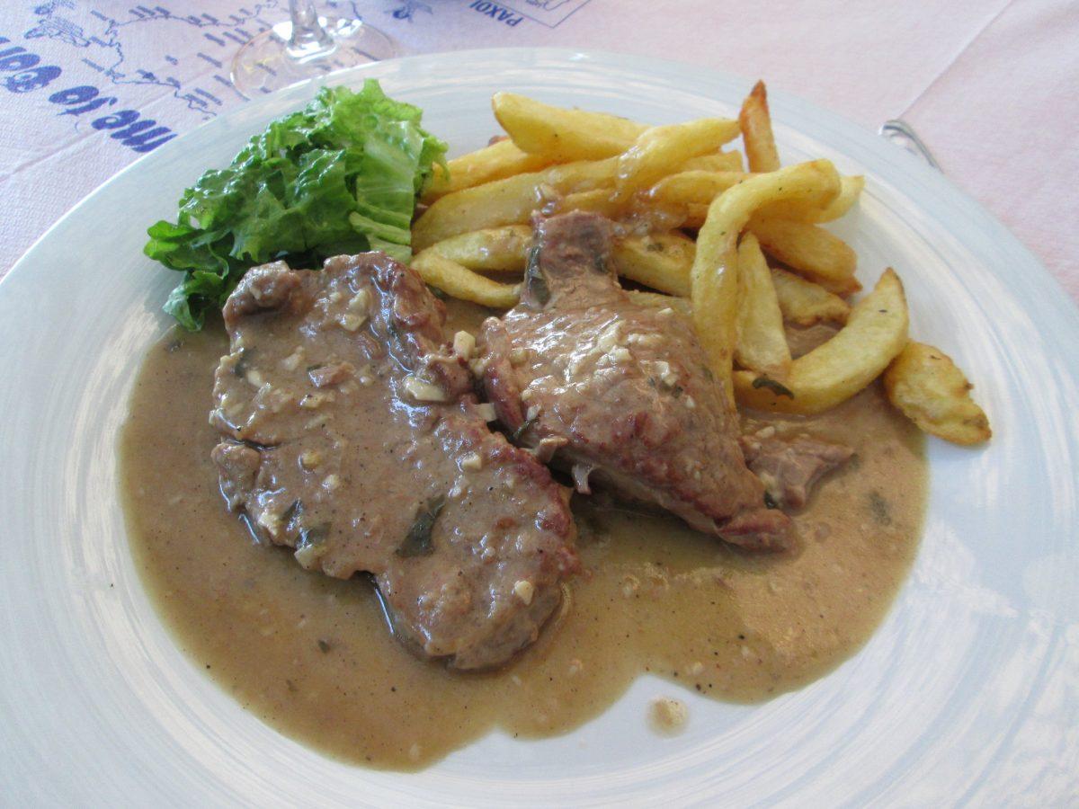 Beef stifado - Corfiot speciality - traditional greek food