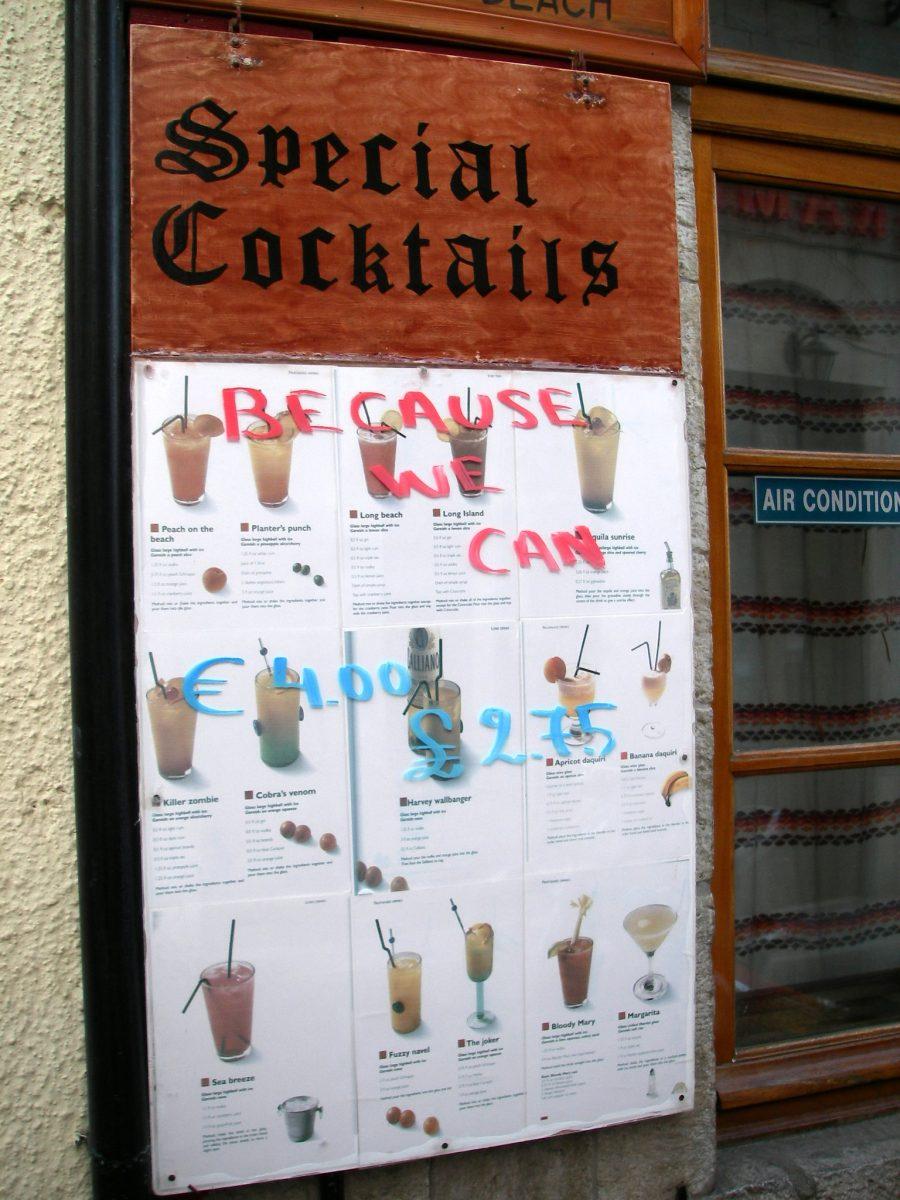 Cocktail Promo on Spetses Island